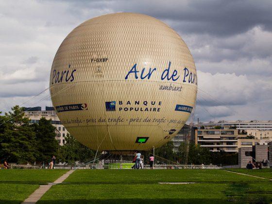Парк Андре Ситроена в Париже