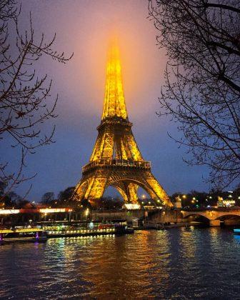 Эйфелева башня (фото)