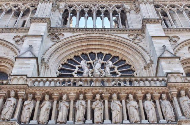 Собор Парижской Богоматери архитектура