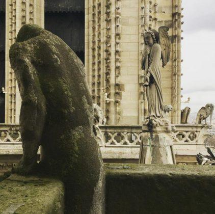 Собор Парижской Богоматери скульптуры