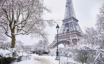 Париж в декабре - погода, что делать, новый год