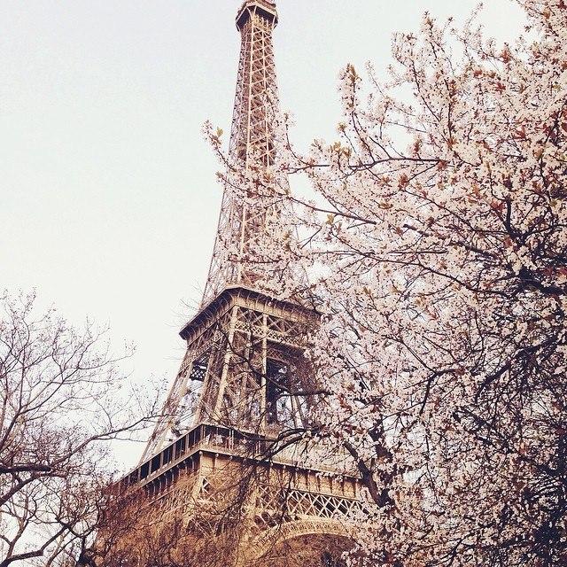 Париж в Марте