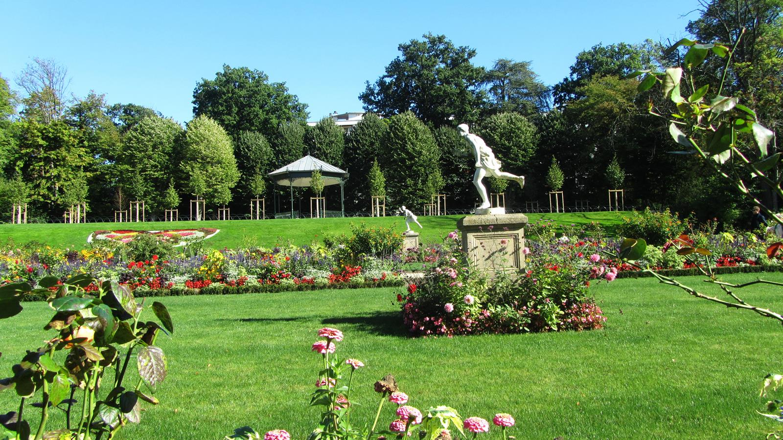 Paris for Le jardin de plantes