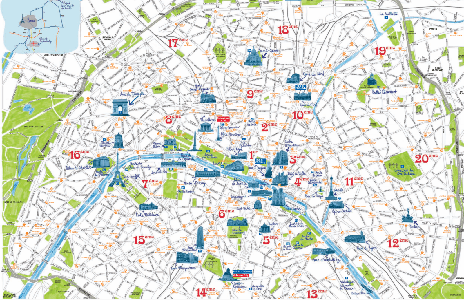 map-paris-city