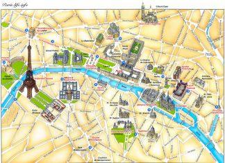 Карта Парижа на Русском языке!
