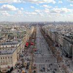 Смотровая площадка на Триумфальной арке в Париже