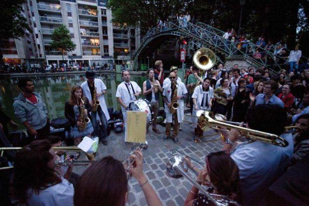 Праздник музыки в Париже