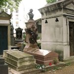 Кладбище на Монмартре в Париже