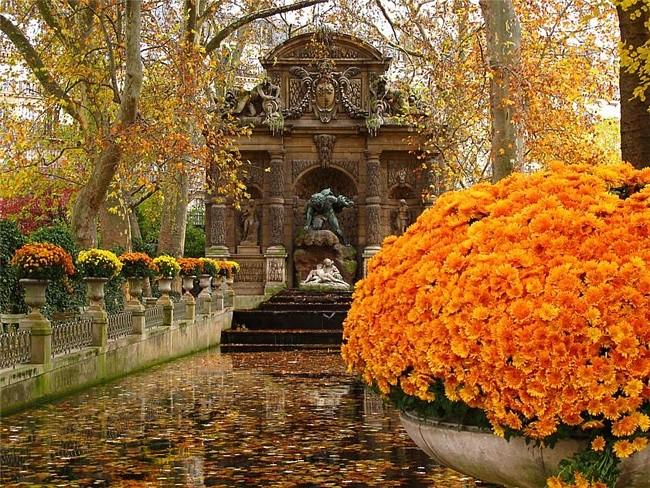 Париж в Октябре (погода)