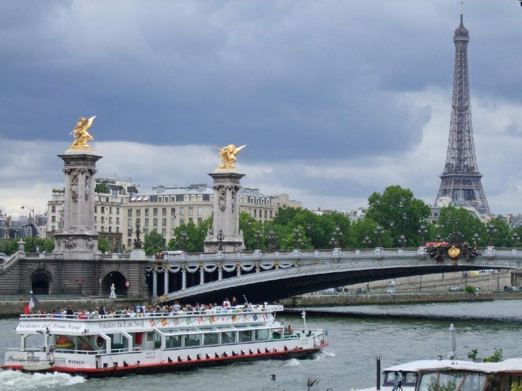 most-alexandra-III-1068x801 Париж. Легендарный Мост Александра III.