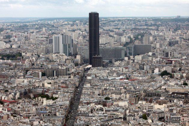 Район Монпарнас в Париже