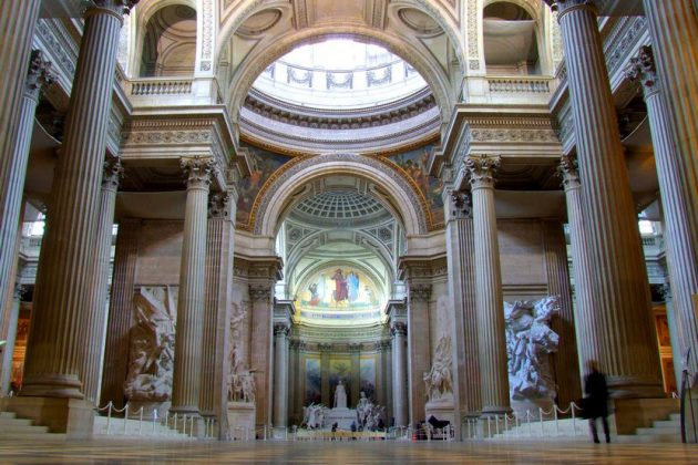 Пантеон внутри (Париж)