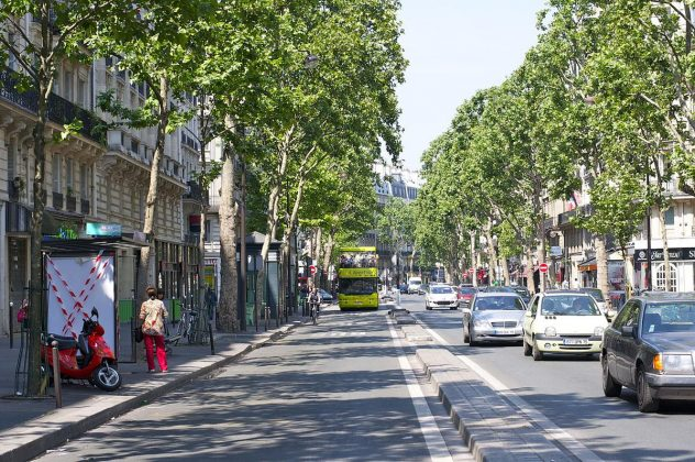 Париж в Июне