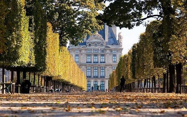 Осень в Париже (Октябрь)