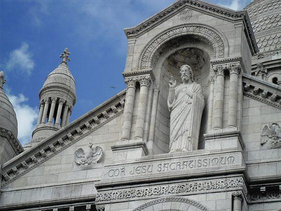 Сакре-Кер скульптура