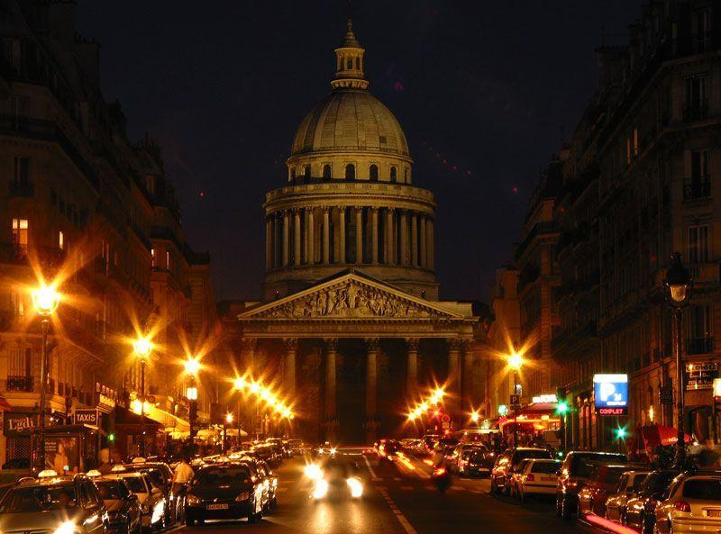 Ночные автобусы из Шарль-де-Голль в Париж