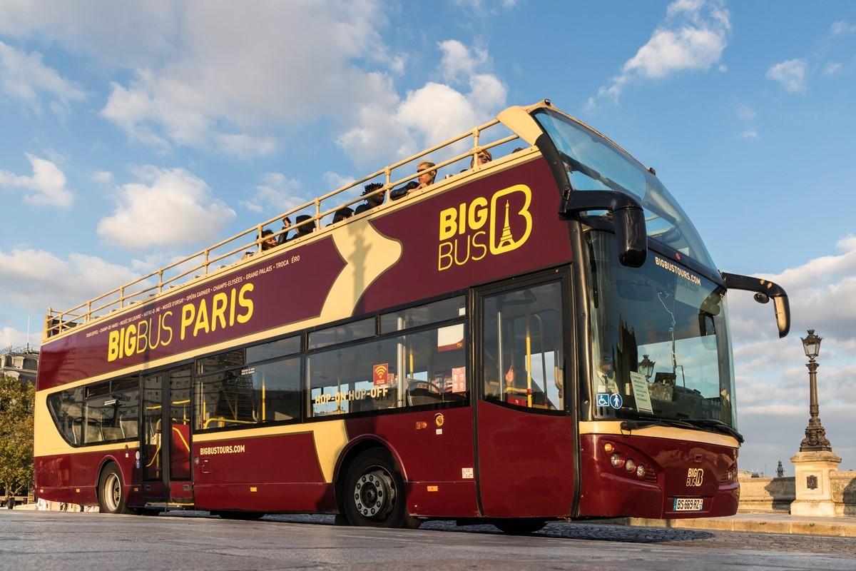 Экскурсии по Парижу с Big Bus Paris