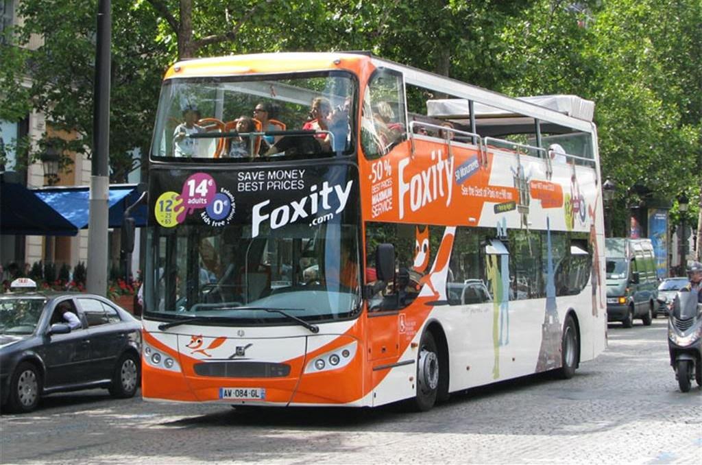 Экскурсия на автобусе Foxity