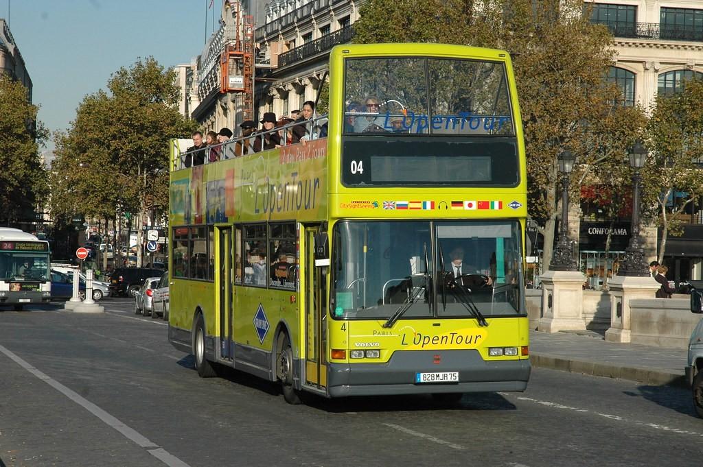 Экскурсии в Париже на автобусе с L'Open Tour