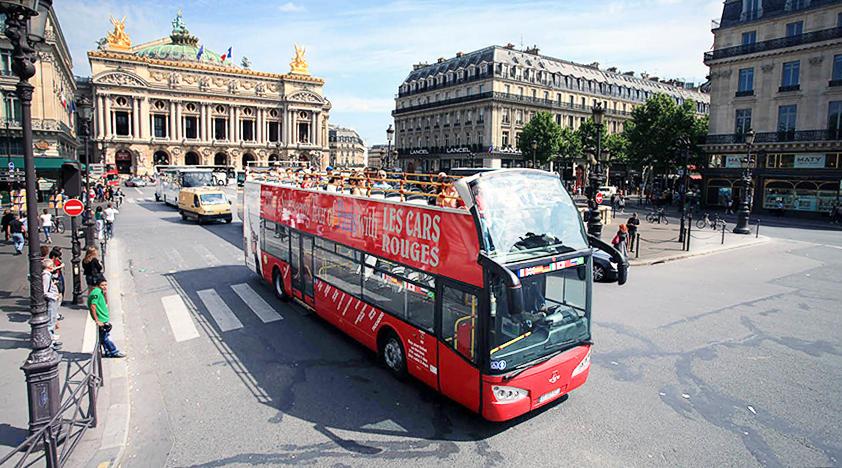 Автобусная экскурсия с Les Cars Rouges