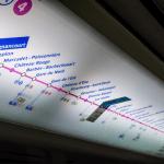 Парижское метро внутри