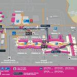 Схема терминалов аэропорта Шарль-де-Голль