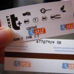 Билеты в метро Парижа