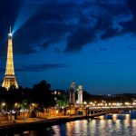 Ночная экскурсия по Парижу на автобусе