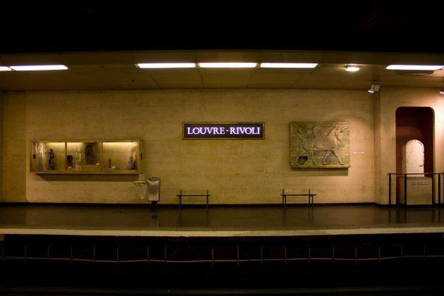 Станция Louvre-Rivoli
