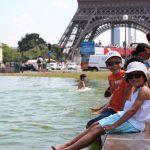Париж в Июле