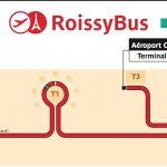 Маршрут автобуса Roissybus
