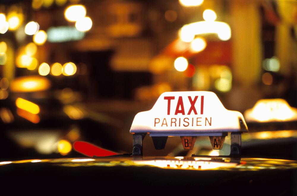 Такси из аэропорта Шарль де Голль в Париж