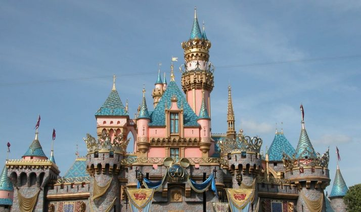 Дворец Спящей красавицы