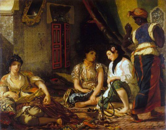Алжирские женщины в своих покоях