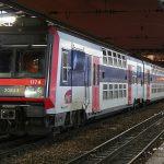 Элктричка RER из Парижа в Шарль-де-Голль