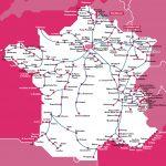 Маршруты поездов TGV (Франция)