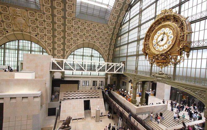 Музей Орсе в Париже (фото)