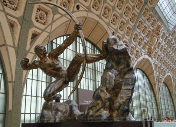 Скульптуры в музее Орсе