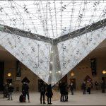 Пирамида Лувра (внутри)