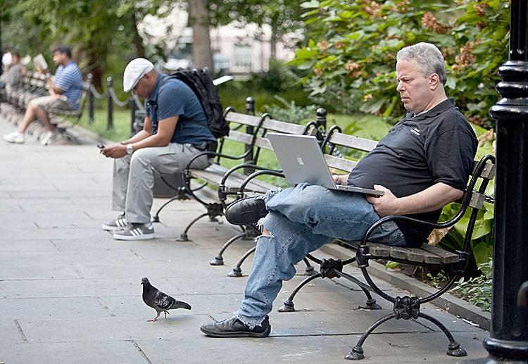 Wi-fi в Париже