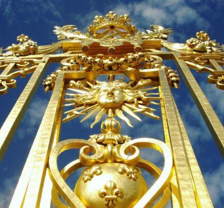 Золотые ворота в Версальский Дворец