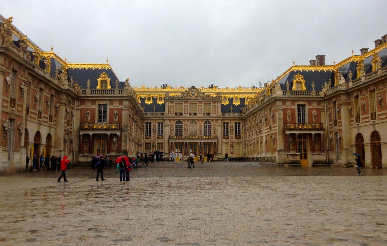Внешняя архитектура Версаля