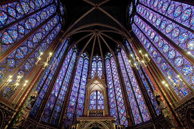 Часовня Сент-Шапель в Париже