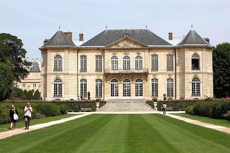 Знаменитый музей Родена в Париже