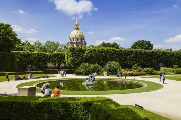 Сад Родена в Париже