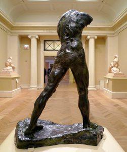 Скульптура Шагающий