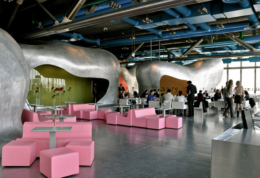 Центр Жоржа Помпиду в Париже