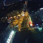 Ночной Париж с смотровой площадки Жоржа Помпиду