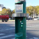 Стойки такси в Париже