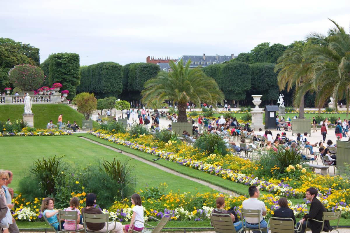 Развлечения в Люксембургском саду